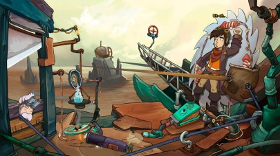 Oh, what Rufus will do to get to Deponia.