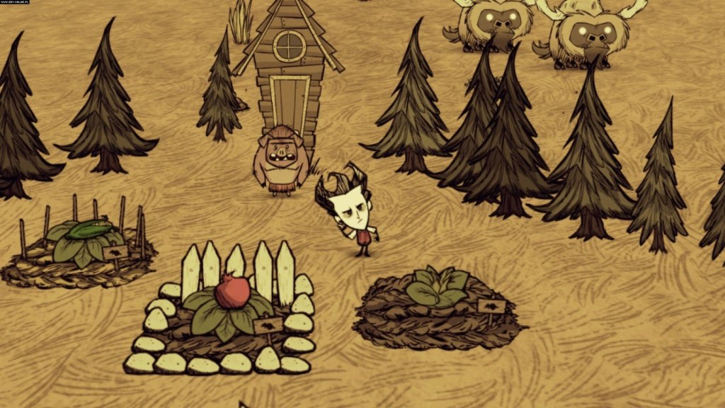It looks cartoony, but Don't Starve requires high levels of concentration and planning, as well as the ability to endure long periods of being freaked the fuck out.