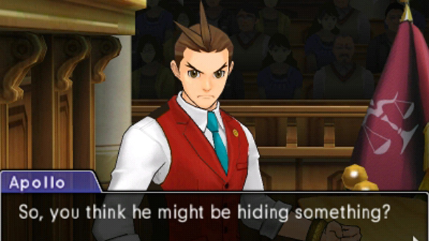 Do you, Apollo? That's a shocker, in a game about exposing lies.