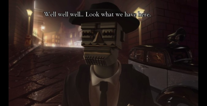 The game is an interesting mix of noir elements with something new.