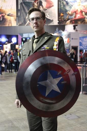 Captain America aka The TARDIS Guy