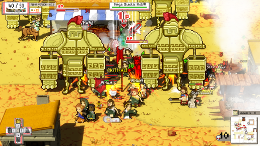 Okhlos - Screen 1