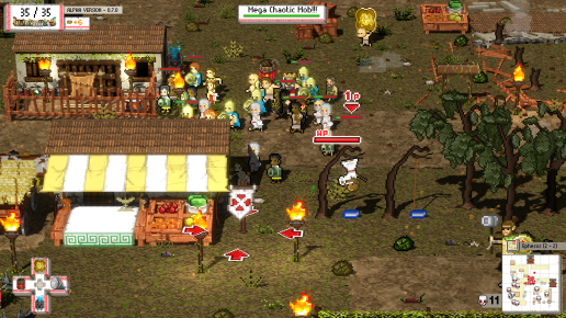 Okhlos - Screen 2