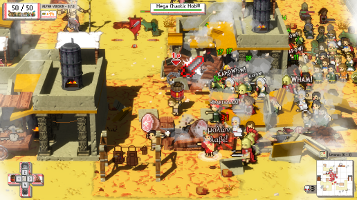Okhlos - Screen 3